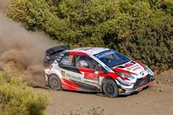 Elfyn Evans wint Rally van Turkije