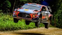 Ott Tänak wint WRC Rally van Estland