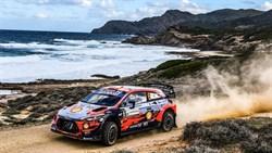 Dani Sordo wint WRC Rally van Italië