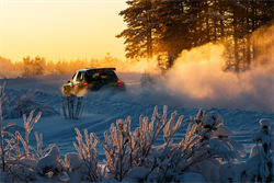 Testing for Arctic Finland Rally