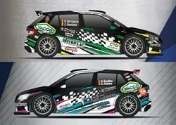 De Cecco en Bouillon met Skoda Fabia Rally 2 Metior Sport naar Ieper