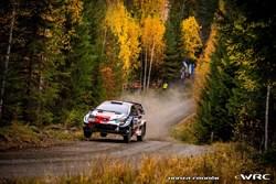 Elfyn Evans wint Rally van Finland