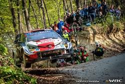 Ogier wint Kroatië Rally in bloedstollende finale