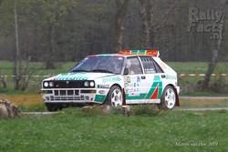 Spektakel verzekerd in NED Historic Rally