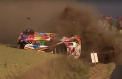 Crash Thierry Neuville