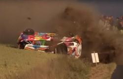 Crash Thierry Neuville
