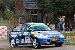 Keurig resultaat De Garage Rallyteam tijdens GTC Rally