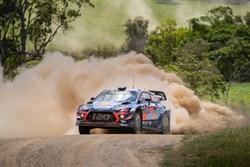 WRC Australië gecanceld vanwege hevige bosbranden