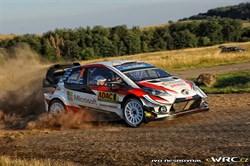 Ott Tänak wint ADAC Rally van Duitsland