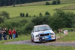 Leyon domineert in de South Belgian Rally
