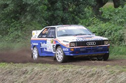 Ludwig pakt zege in Historic Vechtdal Rally