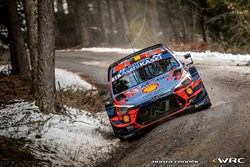 Thierry Neuville wint WRC Rally van Monte-Carlo