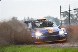 4de plaats voor Gert-Jan Kobus in zeiknatte GTC rally.