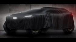 Audi van start in Dakar Rally 2022