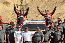 ten Brinke evenaart beste prestatie in Dakar Rally