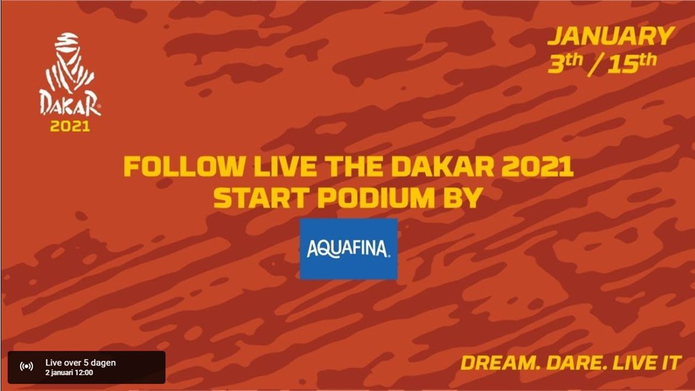 Live stream Dakar 2021