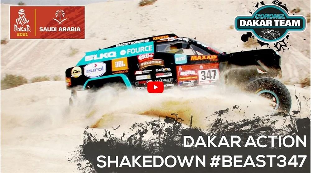 Shakedown Coronel Dakar Team
