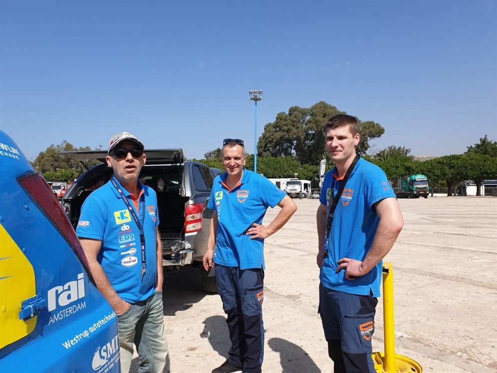 Outland Rallyteam zet zoektocht voort