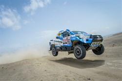 Van Loon behoudt leiding in Morocco Desert Challenge