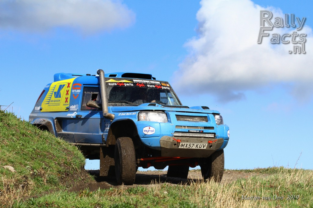 Sponsordag Outland Rallyteam